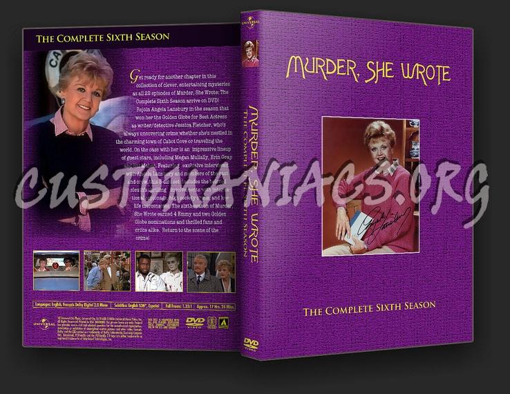 Murder She Wrote - Season 6 dvd cover