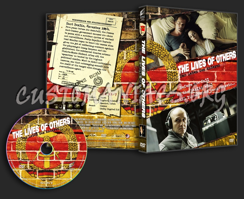 The Lives Of Others dvd cover