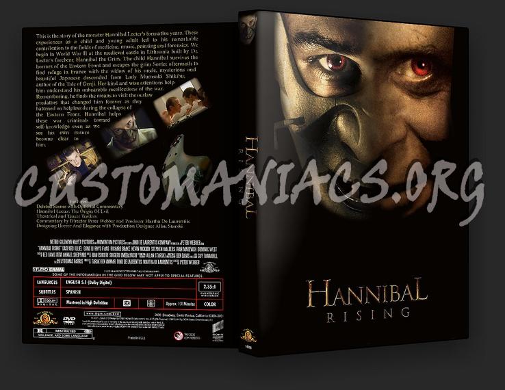 Hannibal Rising dvd cover