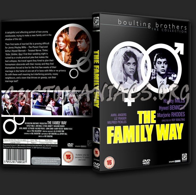 The Family Way dvd cover