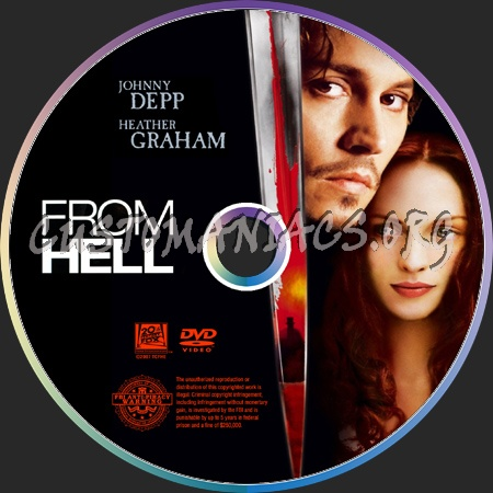 From Hell dvd label