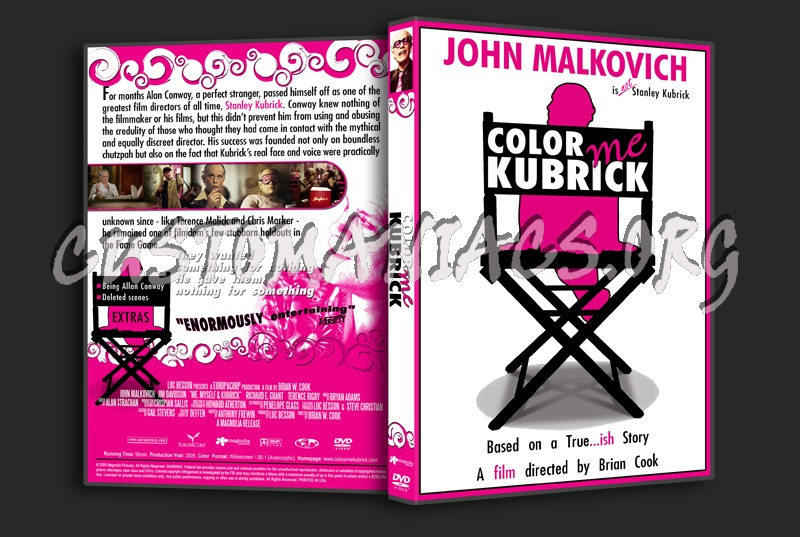 Color Me Kubrick dvd cover