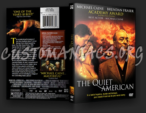 The Quiet American dvd cover