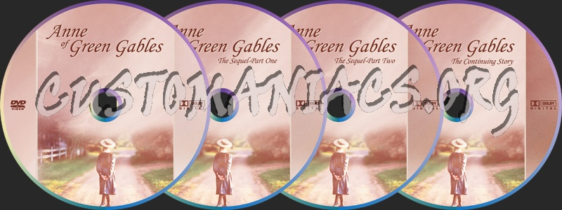 Anne Of Green Gables dvd label