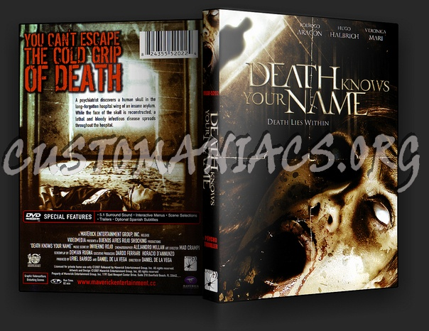 Death Knows Your Name dvd cover