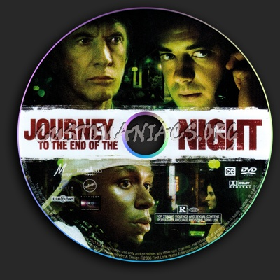 Journey To The End Of The Night dvd label