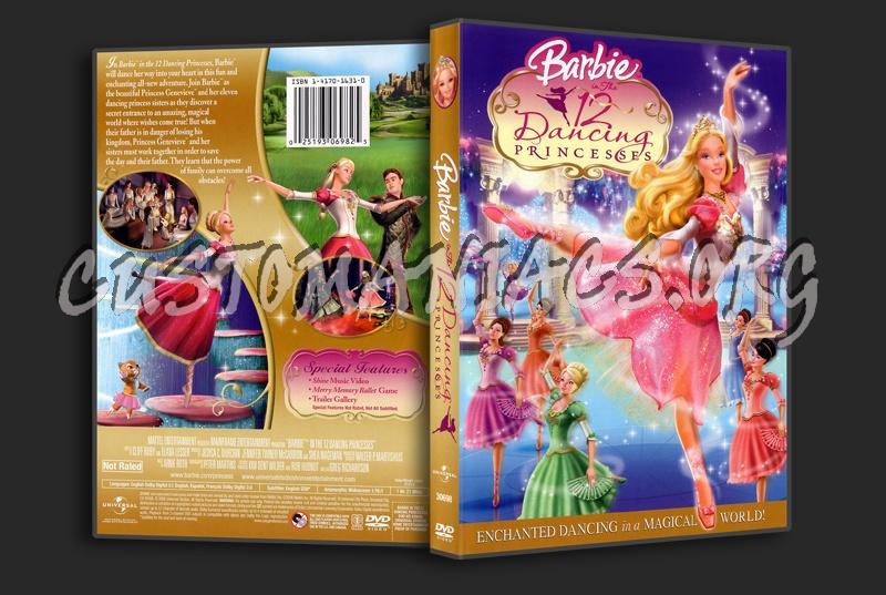 Barbie 12 Dancing Princesses dvd cover