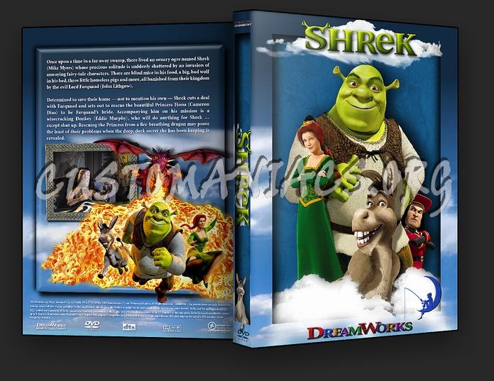 shrek dvd cover