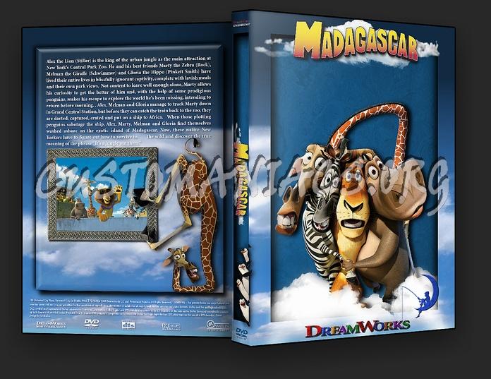 Madagascar dvd cover