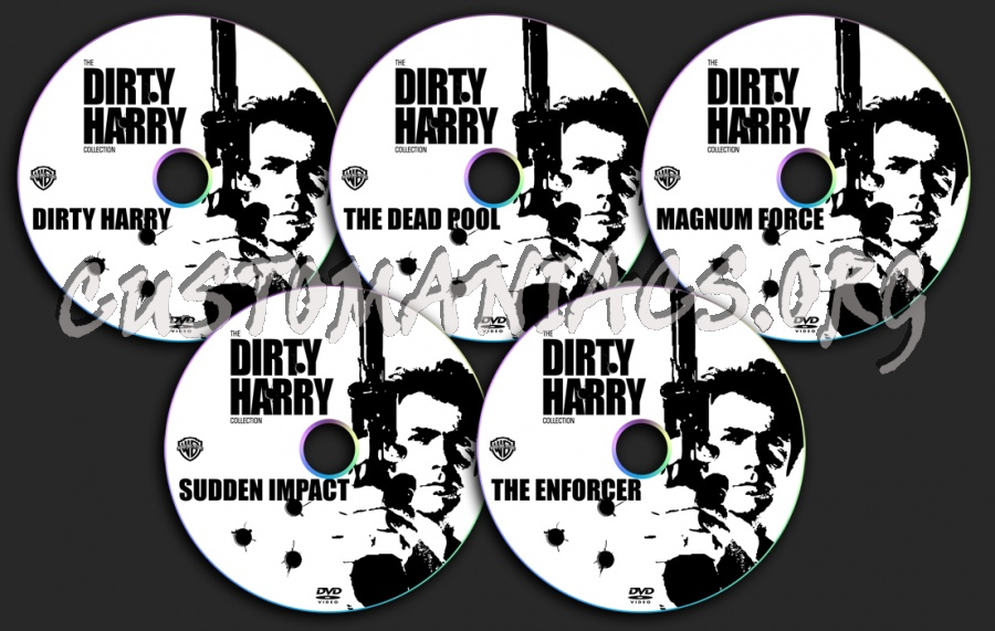 Dirty Harry dvd label