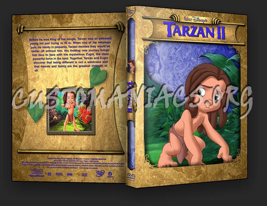 Tarzan 2 Dvd Tarzan 2 Dvd Cover