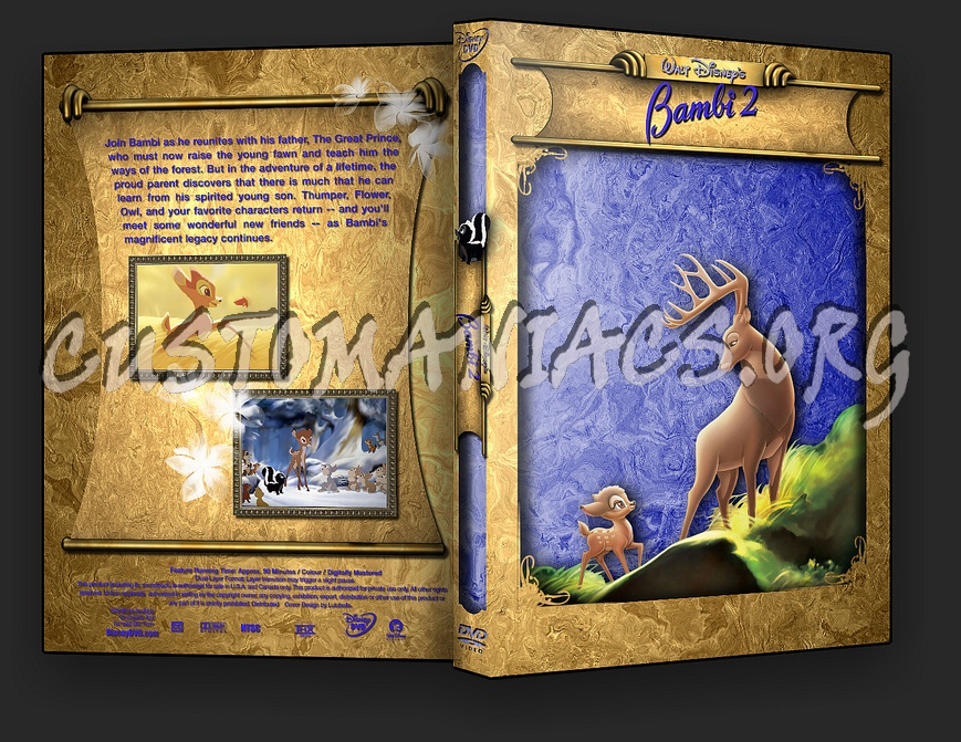 Bambi 2 dvd cover - DVD Covers & Labels by Customaniacs, id: 9278