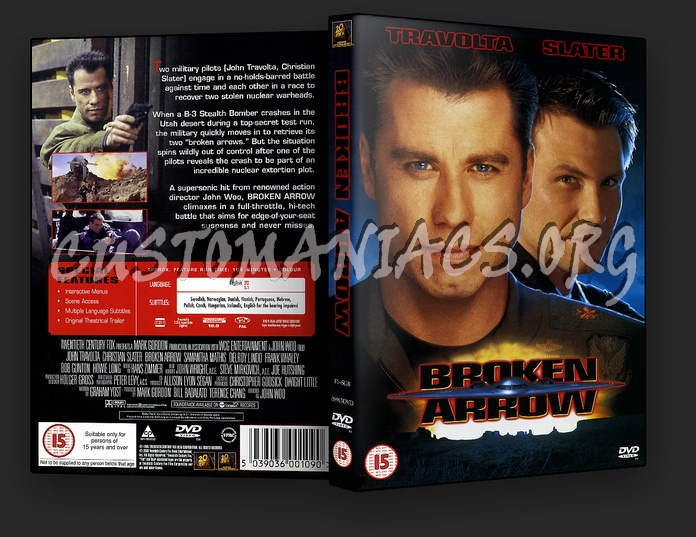 Broken Arrow dvd cover