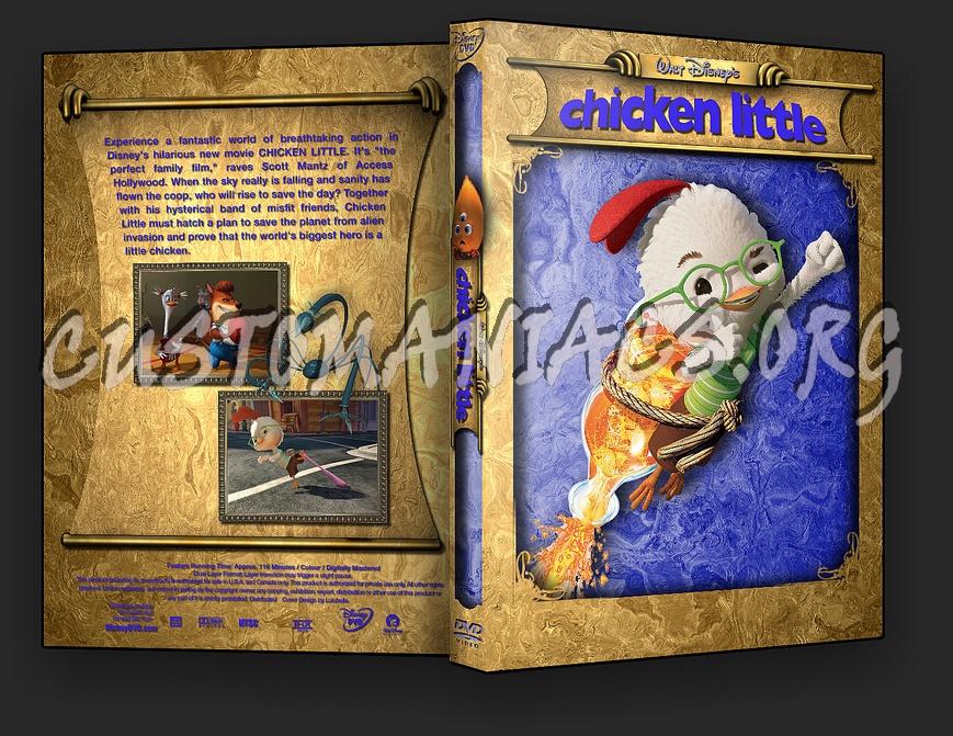 Chicken Little dvd cover