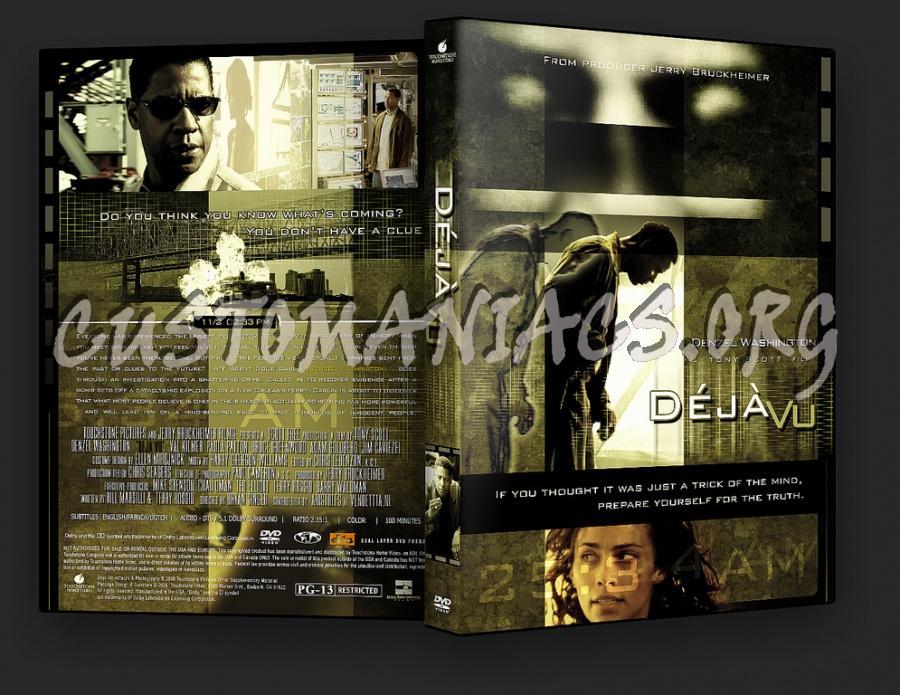 Deja Vu dvd cover