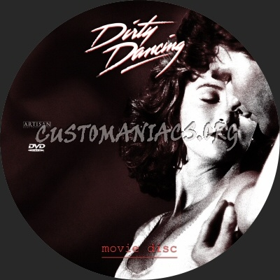 Dirty Dancing dvd label