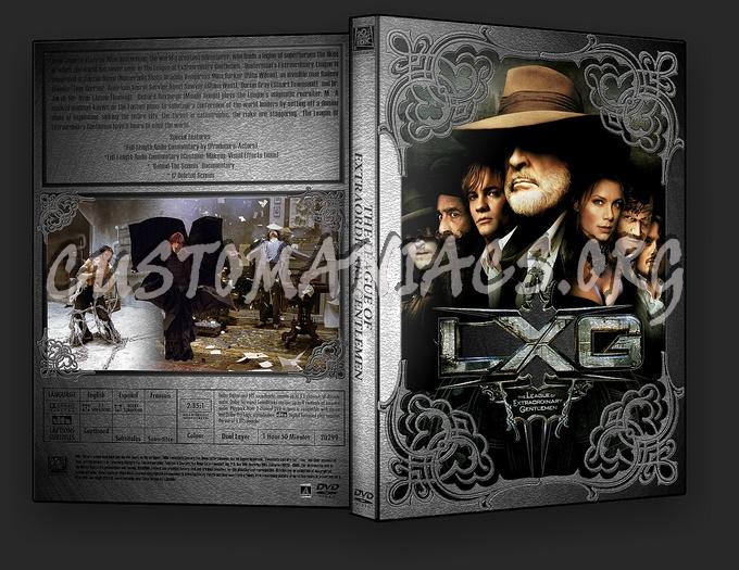 The League Of Extraordinary Gentlemen dvd cover