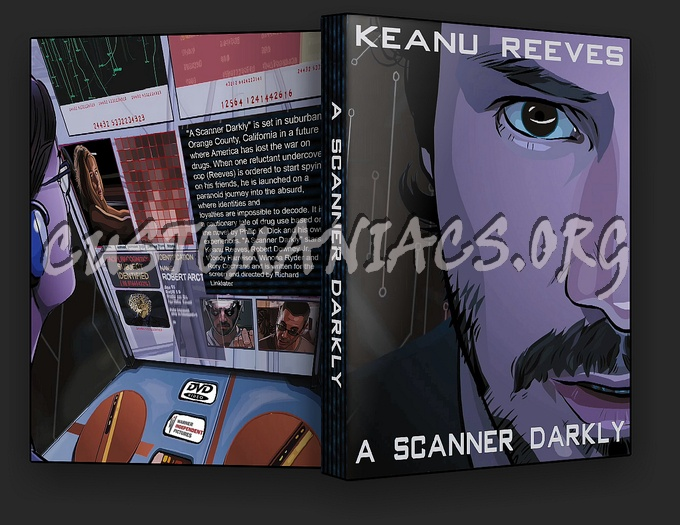 A Scanner Darkly dvd cover