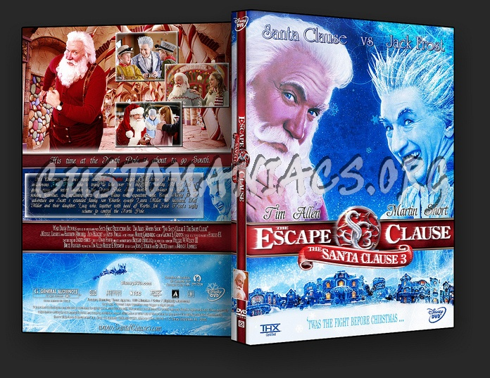 The Santa Clause 3 - The Escape Clause dvd cover