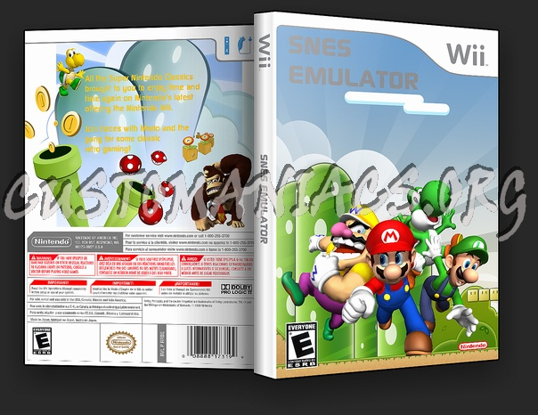 Snes Emulator dvd cover - DVD Covers & Labels by