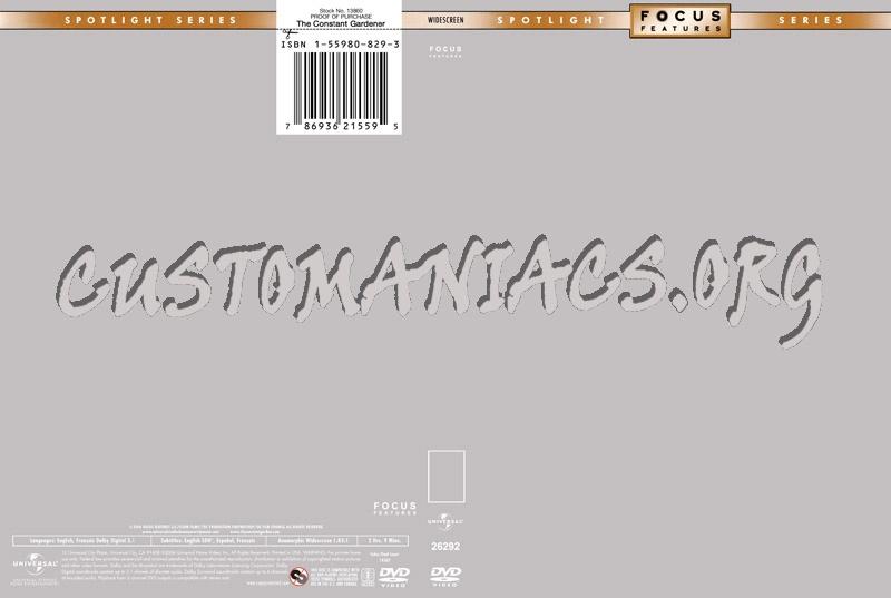 Focus Features dvd label