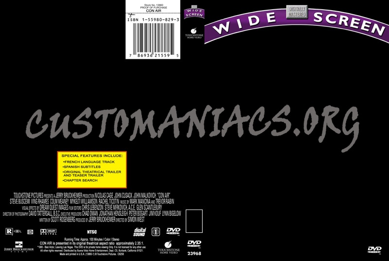 Touchstone OLD dvd label