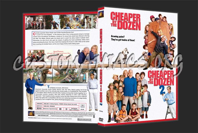 Cheaper By the Dozen dvd cover