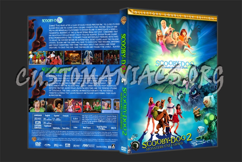 Scooby Doo 2 dvd cover
