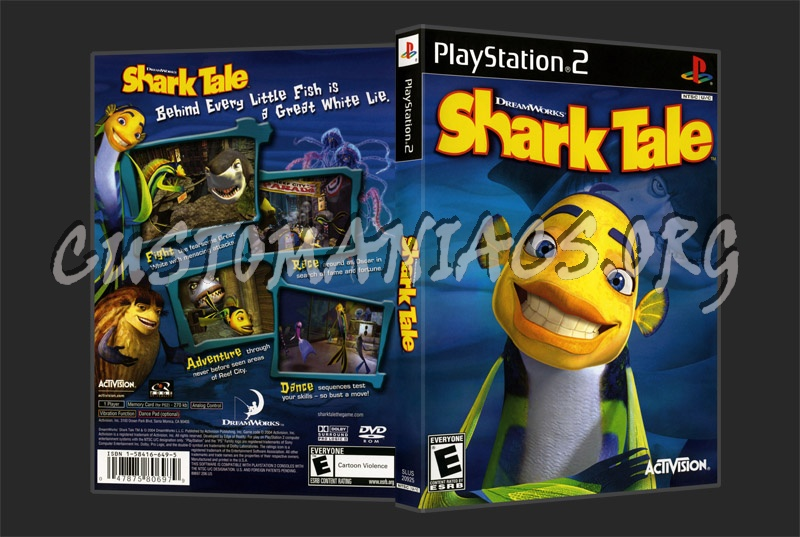 Shark Tale dvd cover