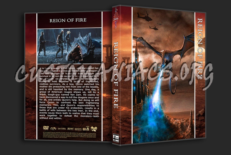 Reign Of Fire dvd cover