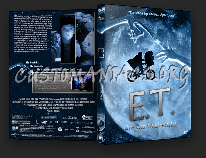 E.T. The Extra-terrestrial dvd cover