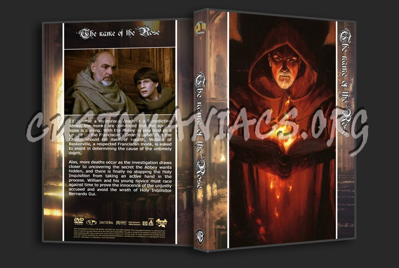 Name Of The Rose dvd cover