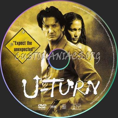 U-Turn dvd label
