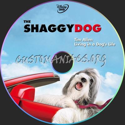 The Shaggy Dog dvd label