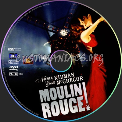 Moulin-Rouge dvd label
