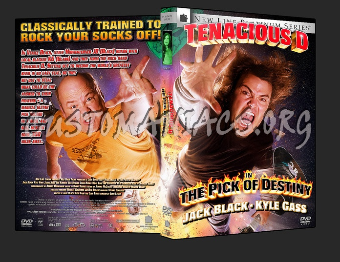 Tenacious D In The Pick Of Destiny dvd cover