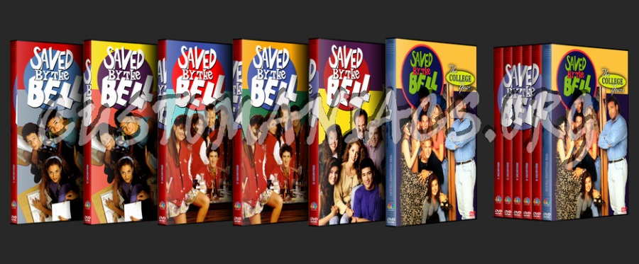 Saved By The Bell dvd cover