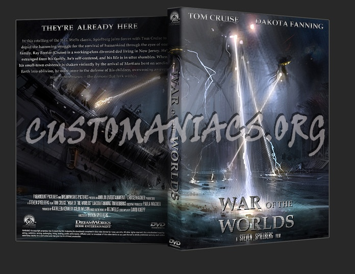 War Of The Worlds dvd cover
