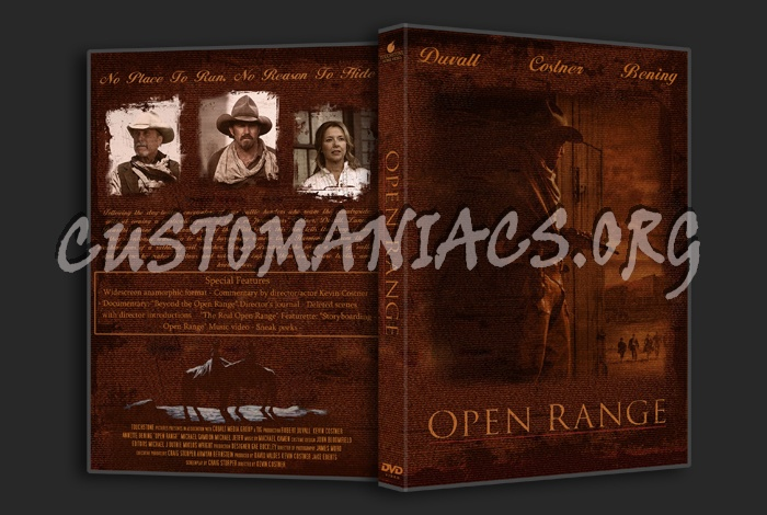 Open Range dvd cover