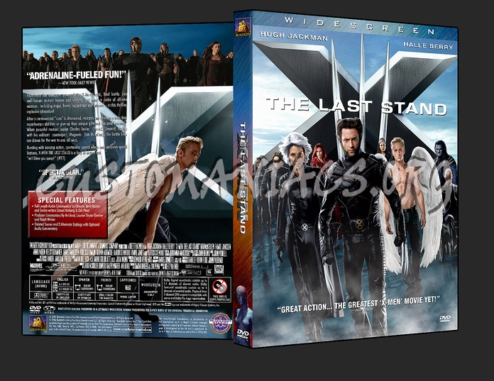 X-Men 3: The Last Stand dvd cover