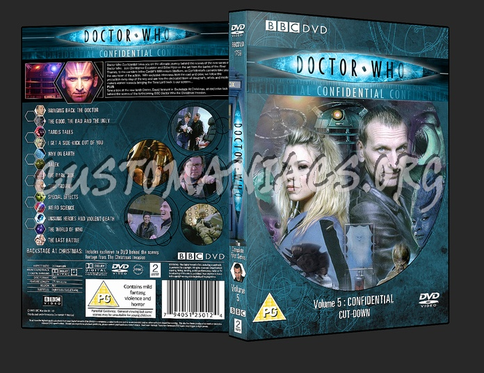 Doctor who 2005 season 1 volume 1 dvd cover dvd covers.