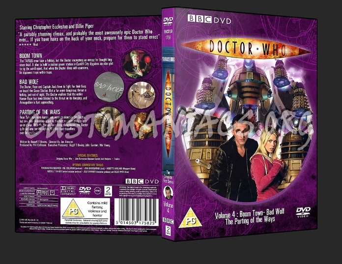 Doctor who season 1 blu-ray cover dvd covers & labels by.