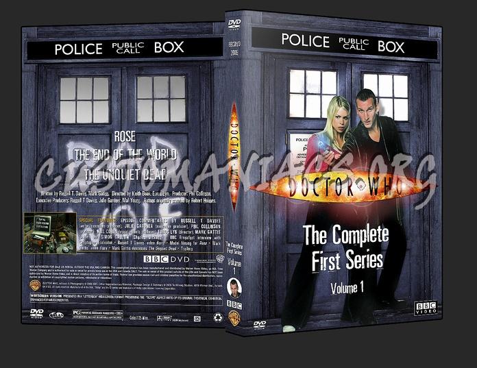 Doctor Who - Season 1 Volumes 1-5 dvd cover