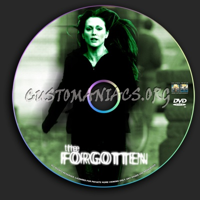 The Forgotten dvd label