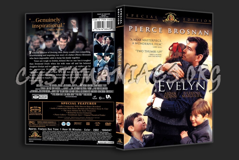 Evelyn dvd cover