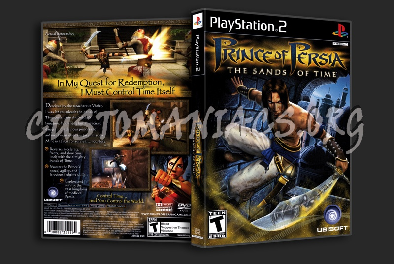 Prince Of Persia The Sands Of Time Dvd Cover Dvd Covers Labels By Customaniacs Id 1569 Free Download Highres Dvd Cover