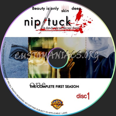 Nip Tuck Season1 dvd label