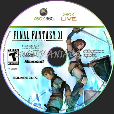 Final Fantasy XI dvd cover