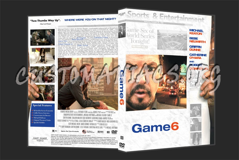 Game 6 dvd cover