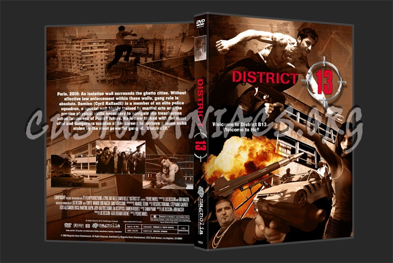 District 13 / D13 / Banlieue 13 / B13 dvd cover